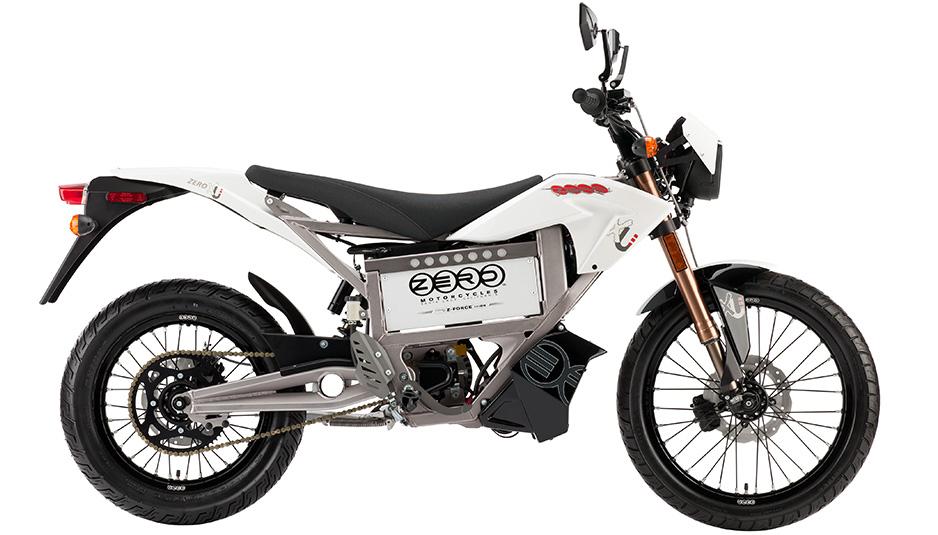 Zero X kunde göra wheelies om man ställde strömbrytarna rätt. Foto: Zero Motorcycles.