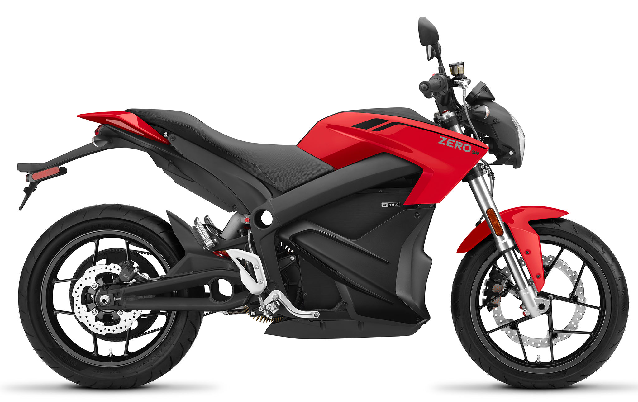 Zero SR ZF14.4 blir återigen härligt röd i 2021 års utförande.