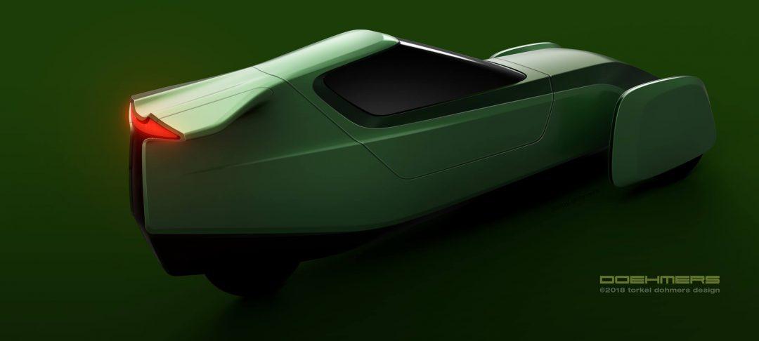 Ecoist Tian, Thomas Kochs elbilsprojekt, bygger även på delar från Zeros elmotorcyklar.