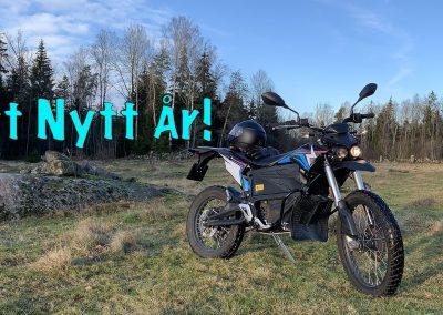 Gott nytt elmotorcykel-år!