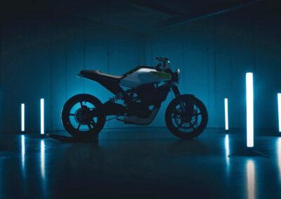 E-Pilen – en ny, kommande elmotorcykel från Husqvarna