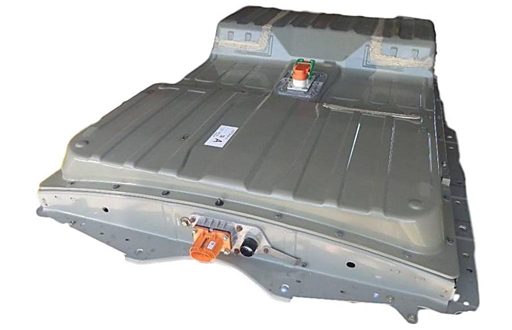 Batteripaketet i Nissan Leaf saknar vätskekylning.