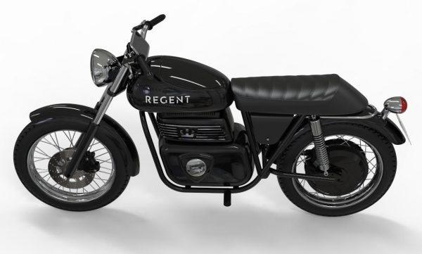 Regent NO.1. Bildkälla: Regent Motorcycles.