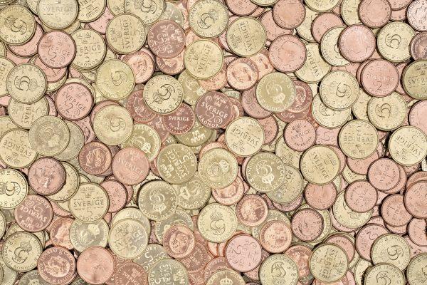 Småslantar i sammanhanget? Foto: Riksbanken.