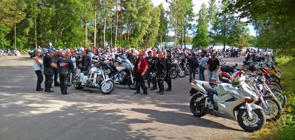 På Rydaholm Bike Meet 2018