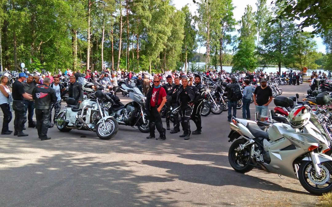 På Rydaholm Bike Meet 2018