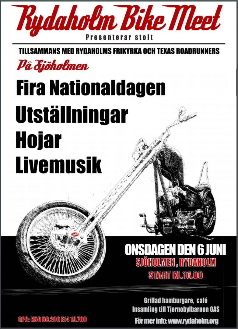 Rydaholm Bike Meet 2018. Klicka på bilden för att se mer om eventet.