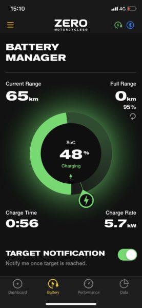 Appen kan även visa laddstatus och när skärmen inte visar vad som händer är appen bra att ha.