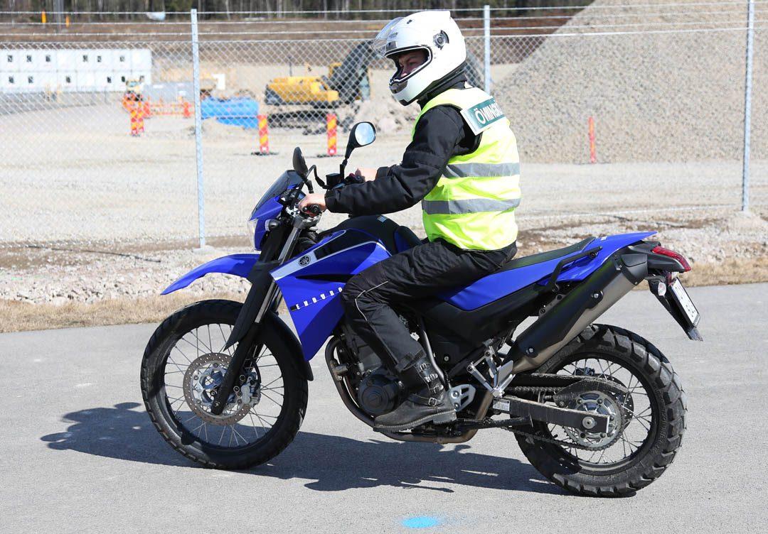 Yamaha XT660R 2011 i min ägo från 2013.