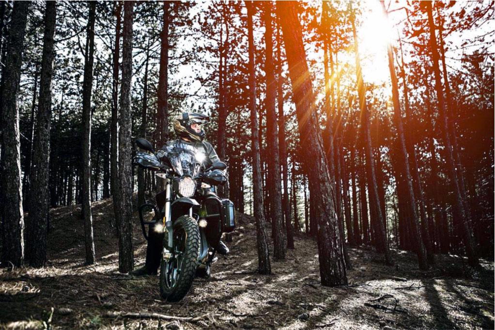 Zero DSR Black Forest Edition 2018 på äventyr.