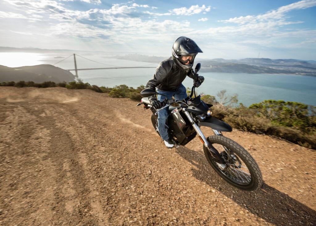 Zero FX i sitt esse. Foto: Zero Motorcycles