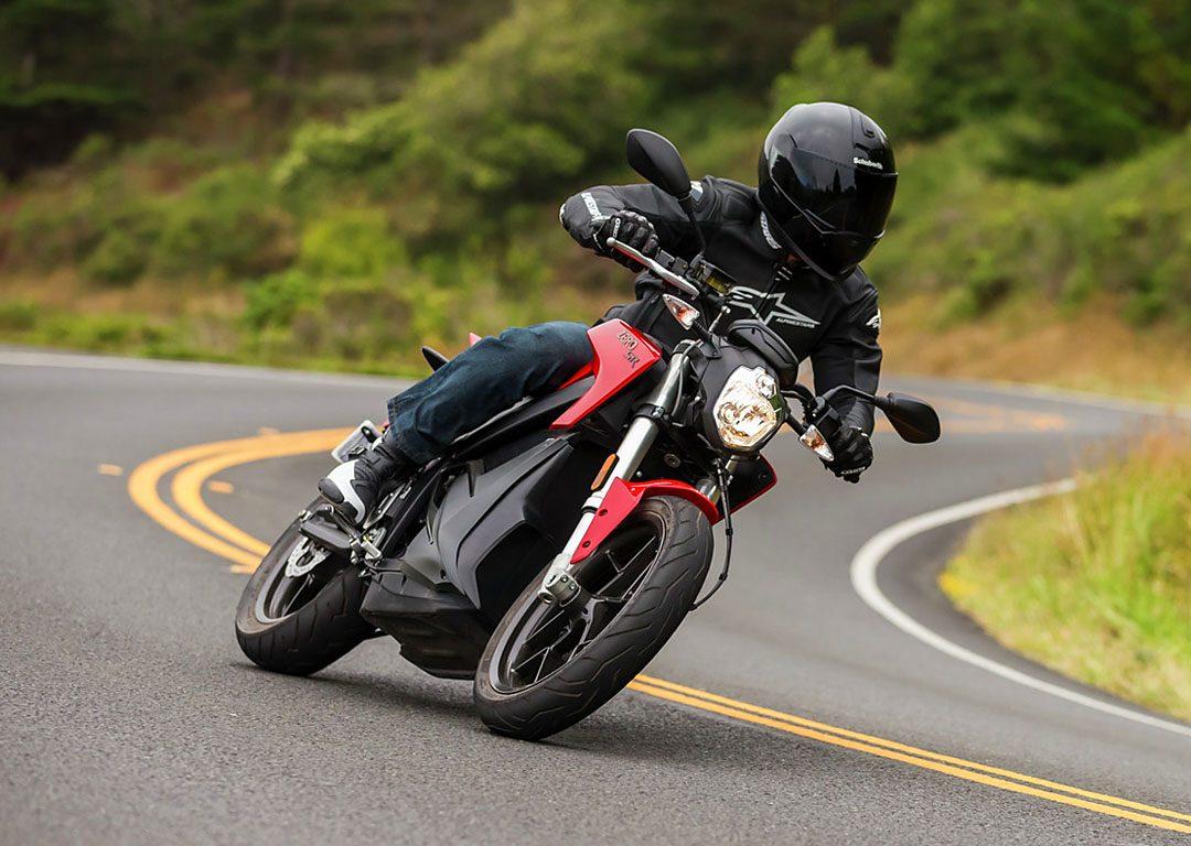 Zero SR är en underbar kurvmaskin. Foto Zero Motorcycles