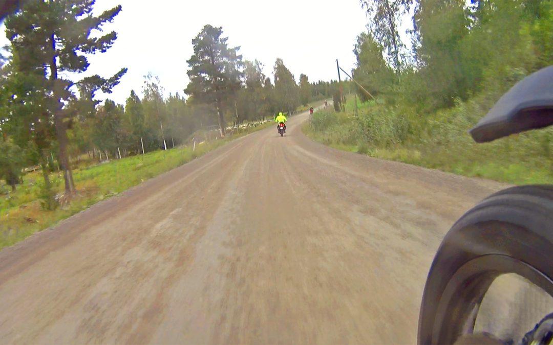 50 mil grusväg på två dagar med Zero DSR