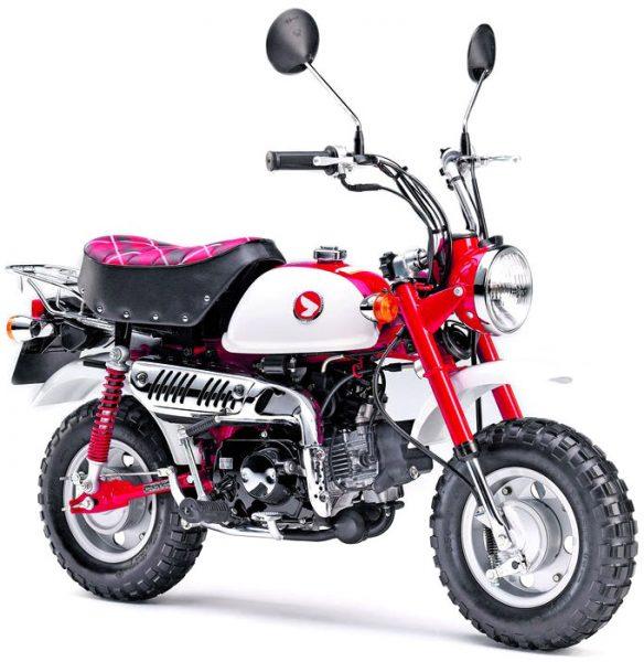 Honda Monkey bike har i princip noll gemensamma drag med Zero. Bildkälla: MotorcycleNews