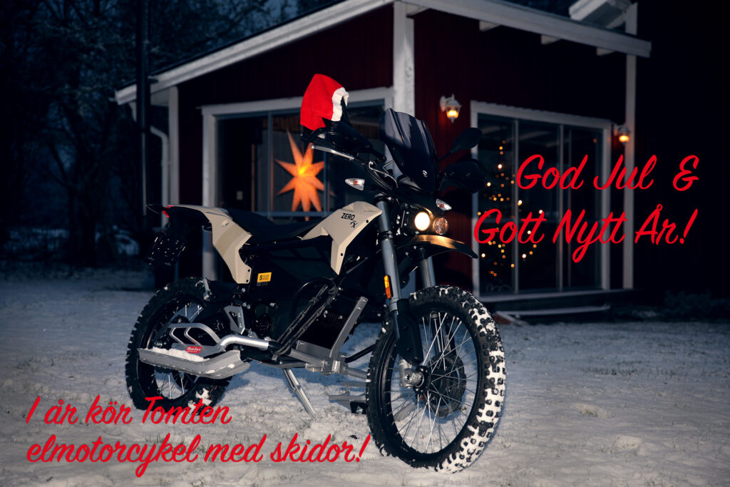 God elmotorcykel-Jul!