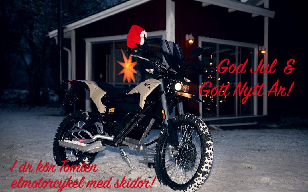 God elmotorcykel-Jul!
