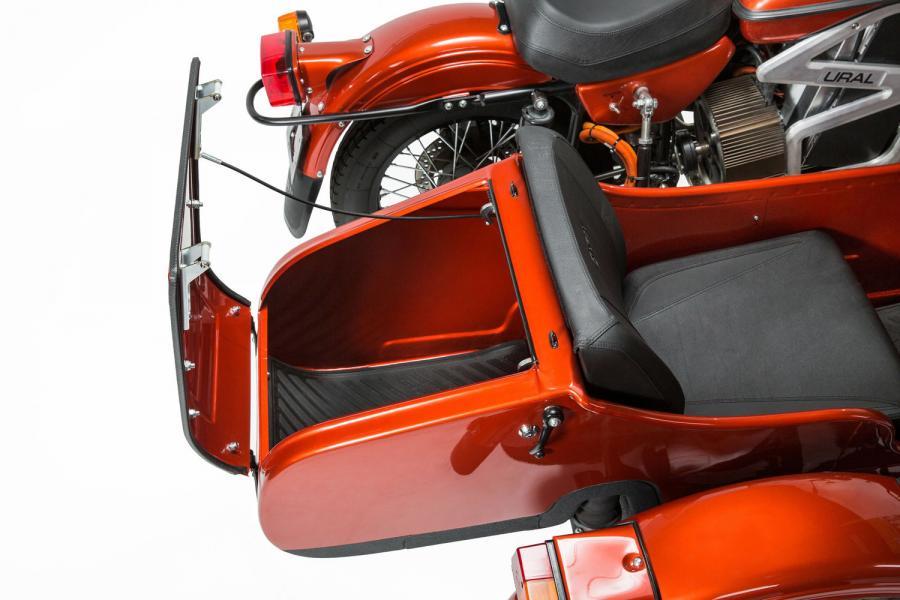 Ural visar el-prototyp. Bildkälla: tidningen Bike.